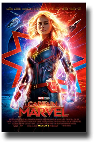 - Captain Marvel Poster Movie Promo 11 x 17 inches Main