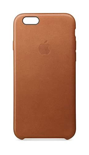 best service 59419 9edd5 Apple Leather Case (for iPhone 6s) - Saddle Brown