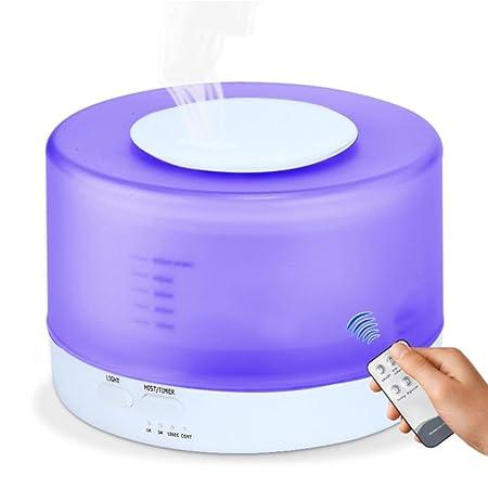 3/in 1/500/ML nebbia umidificatore olio essenziale diffusore di Aroma Purificatore d Aria per Casa Ufficio Umidificatore