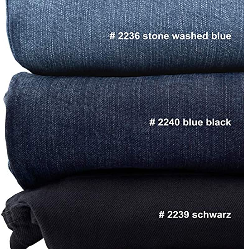 Dżinsy XXL Pionier Stretch Peter Stone Washed Blue: Odzież