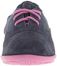 Hush Puppies Lexi Oxford (Toddler/Little Kid),Navy,11.5 M US Little Kid