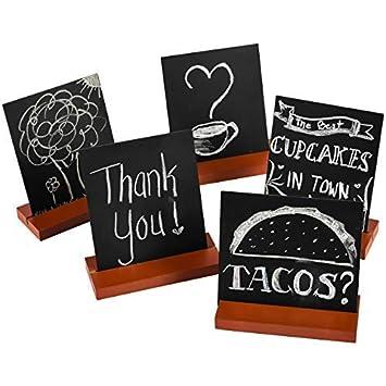 Amazon.com: Mini tablero de pizarra para mesa de Envision ...