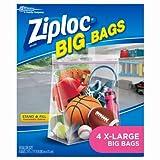 ziploc big bags - Ziploc Big Bag XL (4 Bags)