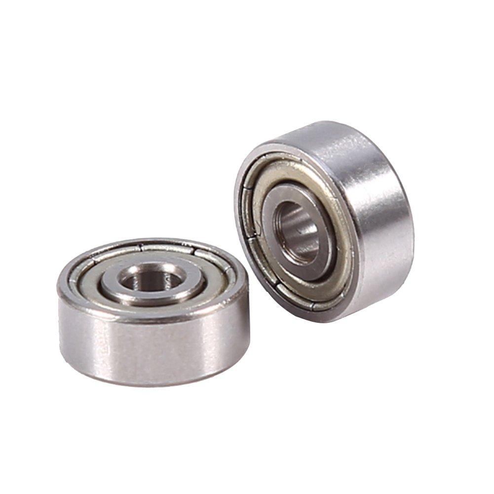 10pcs 623ZZ Deep Groove Ball Bearing Carbon Chromium Steel Shielded Metric Sealed Bearings 3x10x4mm