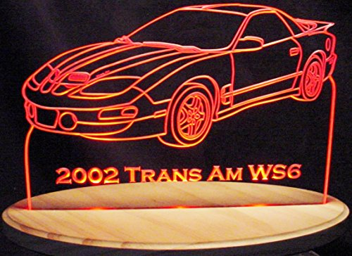 2002 Trans Am WS6 Acrylic Lighted Edge Lit 11-13