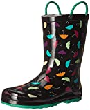 Western Chief Girls Printed Rain Boot, Umbrella Days, 8 M US Toddler