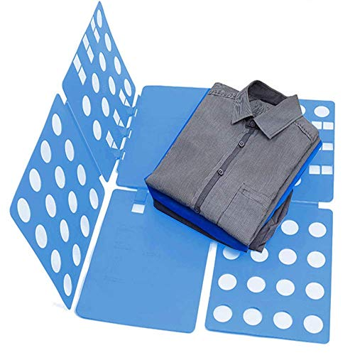 Clothes Folding Board Adult Size Multifunctional Magic Fast Speed T-Shirt Clothes Easy Fold Organize (Folding Board For Clothes)