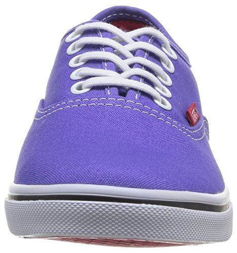 Vans Unisex Authentic (tm) Lo Pro Sneaker (Pop) Lila Iris / Rose Red