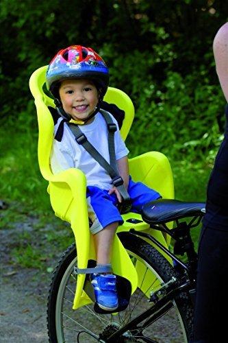 Bellelli Mr. Fox Baby Carrier Child Bike Seat - Standard Multifix Anchor System, Yellow - 50lbs. by Bellelli (Image #3)