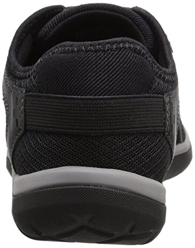 6 Leather Clarks Shoe Lace US 5 M Aria Women's Walking Black rTr0YAx