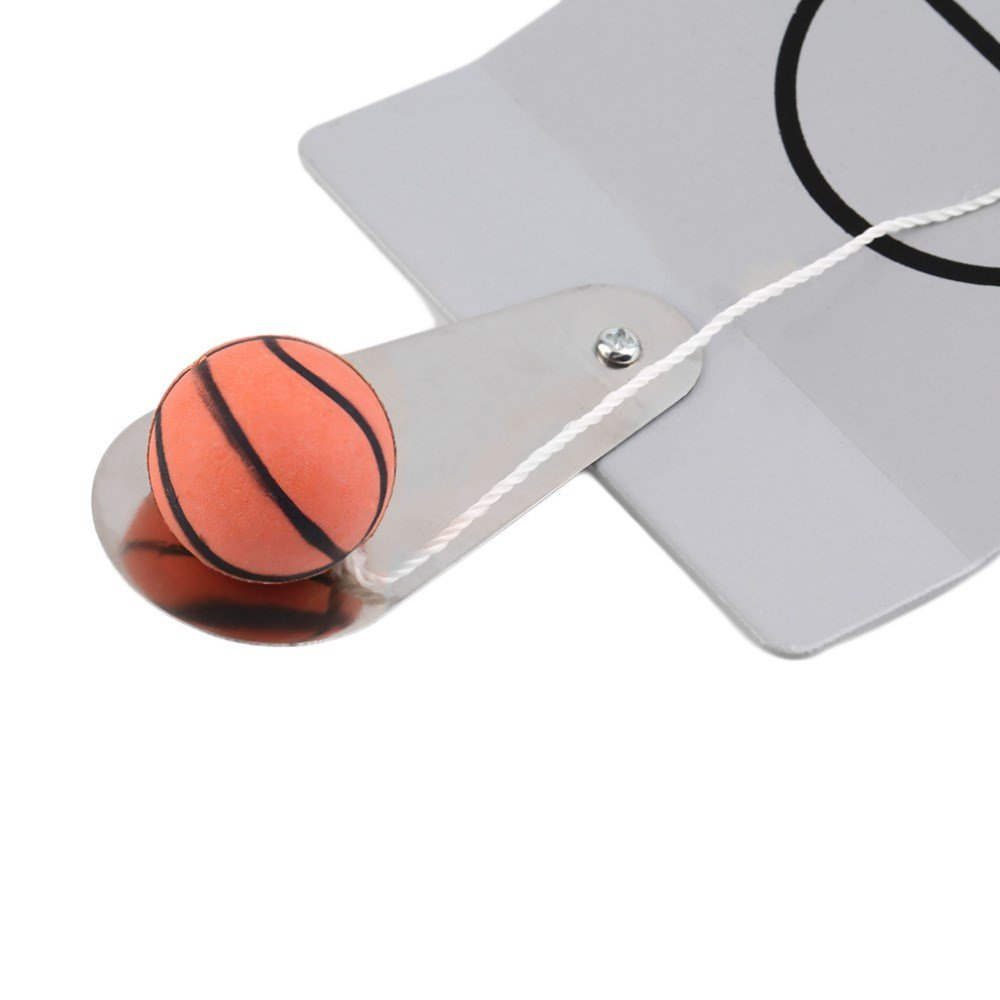 Fengirl Creative Funny Desktop Miniature Basketball Game Toy, Fun Sports Novelty Toy Gag Gift Idea (Gray) by Fengirl (Image #6)