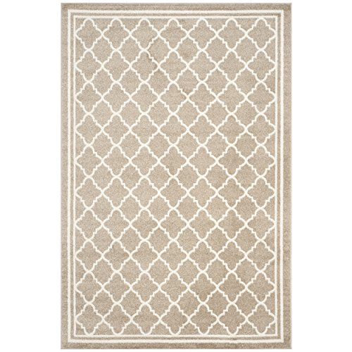 Wheat Rug (Safavieh Amherst Collection AMT422S Wheat and Beige Indoor/ Outdoor Area Rug (5' x 8'))