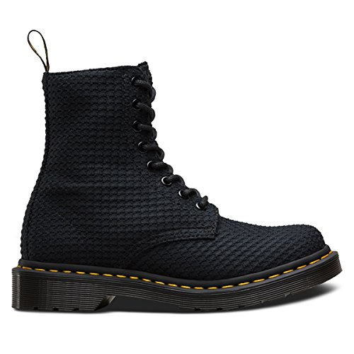 Dr. Martens Women's Page 8 Eye Boot,Black Waffle Cotton,UK 4 M by Dr. Martens (Image #1)