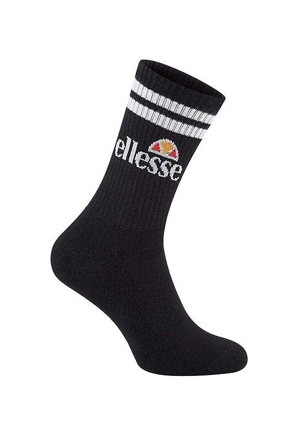 Ellesse-Pullo 3 Pack Socks Black Chaussettes