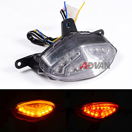 Ready to Ship! Moto Onfire Aftermarket Motorcycle Integrated LED Taillight Brake Lamp For KTM Duke 125 200 390 All Years - Clear