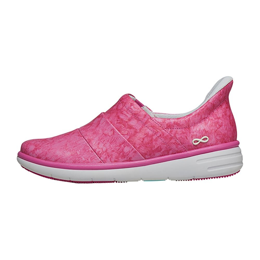 Infinity By Cherokee Women's Breeze Slip On Athletic Shoe B07FB29ZLV 07H|Pinkparty/Marshmallow