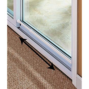 sliding glass door security bar white color feel safe at home with these adjustable home