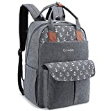Diaper Bag Backpack, Lekebaby Multifunction Large Diaper Backpack Travel Back Pack Nappy Bag