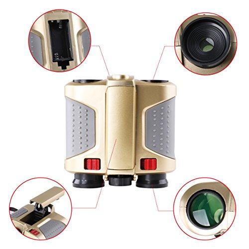 Freebily 4x30 Night Scope Binoculars Telescope with Pop-up Spotlight Fun Cool Toy Gift for Kids Boys Girls by Freebily (Image #5)