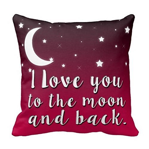 Desing shop I Love You To The Moon and Back Pillow Case 18 ...