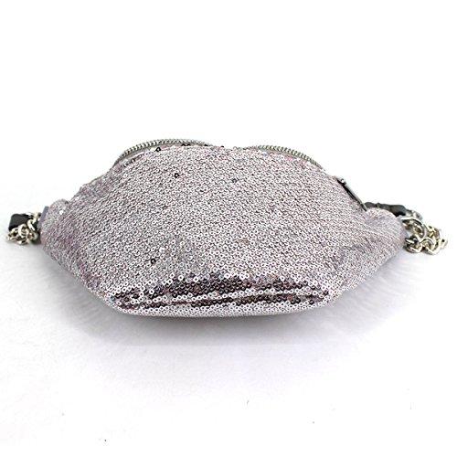 bb au porté 01He main 1 pour Silvery silver unique AiSi à taille dos C FS Sac 02727 femme 8nxw0W5SqU