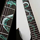 Fretboard Markers Inlay Sticker Decals for Guitar - Twisted Snake