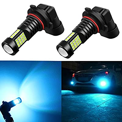 Alla Lighting 2000 Lumens High Power 3030 36-SMD Extremely Super Bright 8000K Ice Blue H10 9040 9140 9045 9145 LED Bulbs for Fog Driving Light Lamps Replacement: Automotive