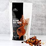 The Spice Lab - 1 Pound Bag Authentic Belgian Brown Rock Beet Sugar - All Natural Kosher Non GMO Imported Tea Sugar fermentable sugar
