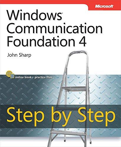Windows Communication Foundation 4 Step by Step (Step by Step Developer) Pdf