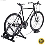 COLIBROX--New Magnetic Indoor Bicycle Bike Trainer Exercise Stand 5 levels of Resistance,magnetic indoor positioning,trainer for bicycle