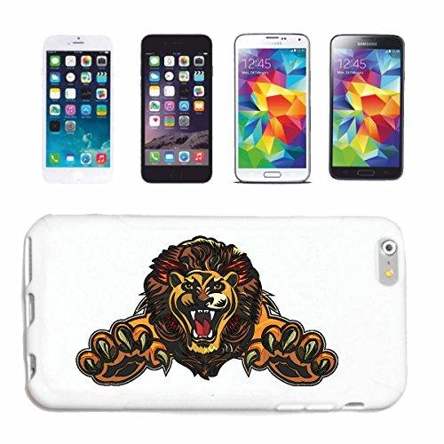 """cas de téléphone iPhone 7+ Plus """"LION EN ATTAQUE AVEC PLEINEMENT PROLONGÉE PAWS AMERICAN LION STAR INSCRIVEZ ROBBERY BIG CAT LION ANIMAL"""" Hard Case Cover Téléphone Covers Smart Cover pour Apple iPhone"""