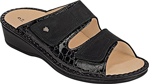 Finn Buggy Nero Jamaica 2519 Leather Comfort Sandals Frog Womens qBUqr7wZ