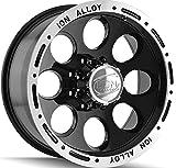 Ion Alloy 174 Black Beadlock Wheel (16x8''/5x114.3mm)
