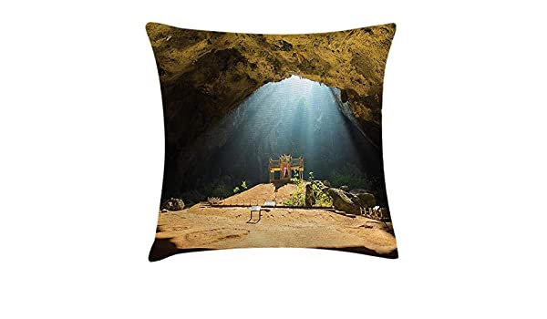 Trsdshorts Natural Cave Throw Pillow Cushion Cover, View ...