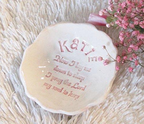 Personalized Bedside Prayer Bowl Trinket Dish ()