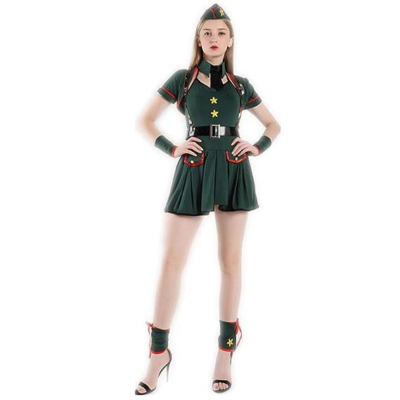 Sttsale Disfraz Halloween, Mujer policía de Halloween, Traje ...