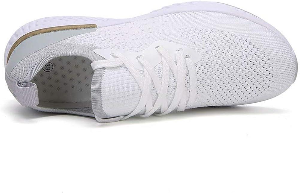 SANNAX Femmes Baskets Mode Chaussures de Sport D/écontract/ées Course Respirantes Confortables