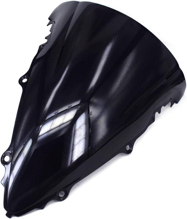 Color Negro An Xin Protector de Parabrisas para Yamaha YZF R6 YZF-R6 2006-2007