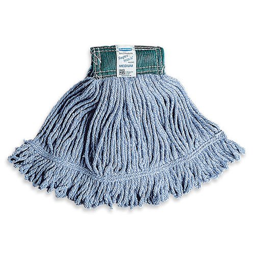 Rubbermaid Commercial Super Stitch Blend Mop, Large, Green, FGD21306GR00