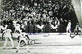 Autographed Wilson Photo - Rich Gedman Bob Stanley, & Spike Owen 11x14 World Series Game 6 versus Red Sox Buckner Error)