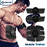 Abdominal Muscle Toning Belt, Arm Leg Waist Belly Fitness Training Gear, Body Exercise Workout Stimulator for Home Gym Office, Great for Muscular Atrophy