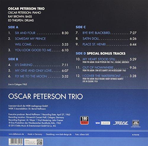 OSCAR TRIO PETERSON - Live In Cologne 1963 - Amazon com Music