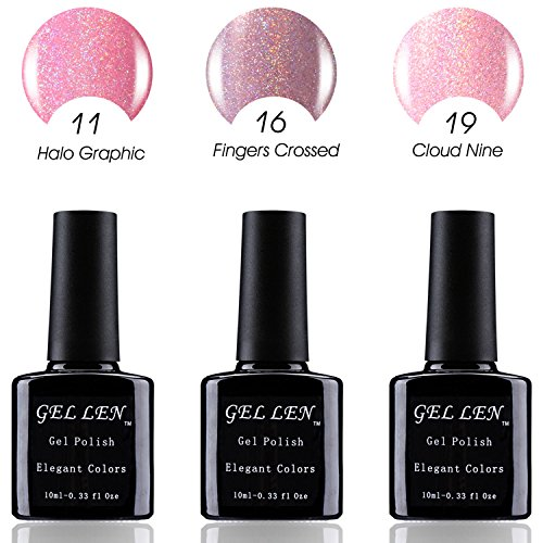 Gellen New Trend HALO Gel Series UV LED Gel Nail Polish , Pa