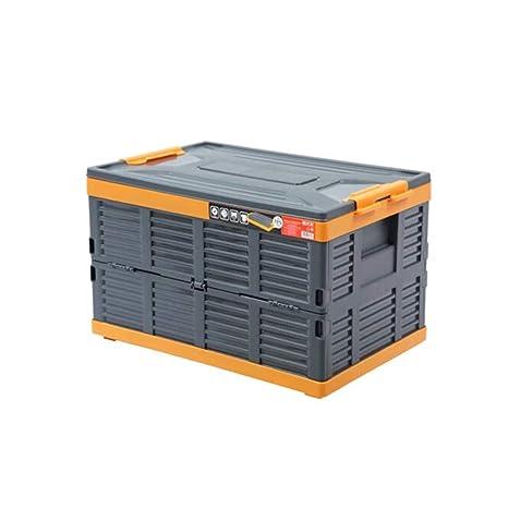 Caja de almacenamiento plegable Everyday Home Cajas De PláStico Apilables, Duraderas Y Plegables, Paredes