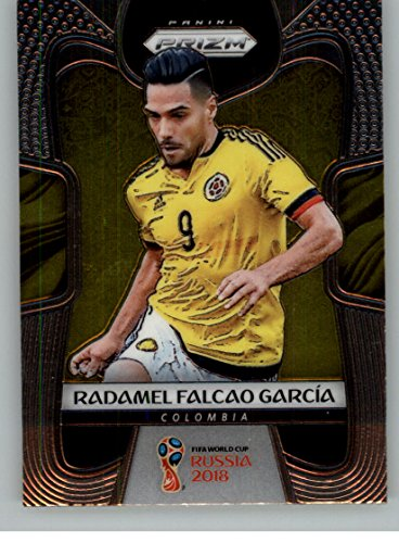 2018 Panini Prizm World Cup Soccer #43 Radamel Falcao Garcia Colombia Futbol Card