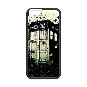 iPhone 6 4.7 Inch Cell Phone Case Black Tardis Dhssz