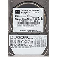 MK2023GAS, HDD2187 A ZK01 T, Toshiba 20GB IDE 2.5 Hard Drive