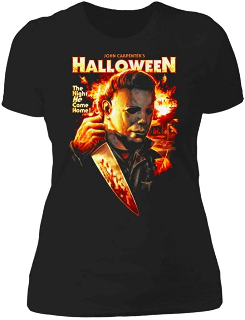 Michael Myers Halloween The Night He Came Home Women's T Shirt