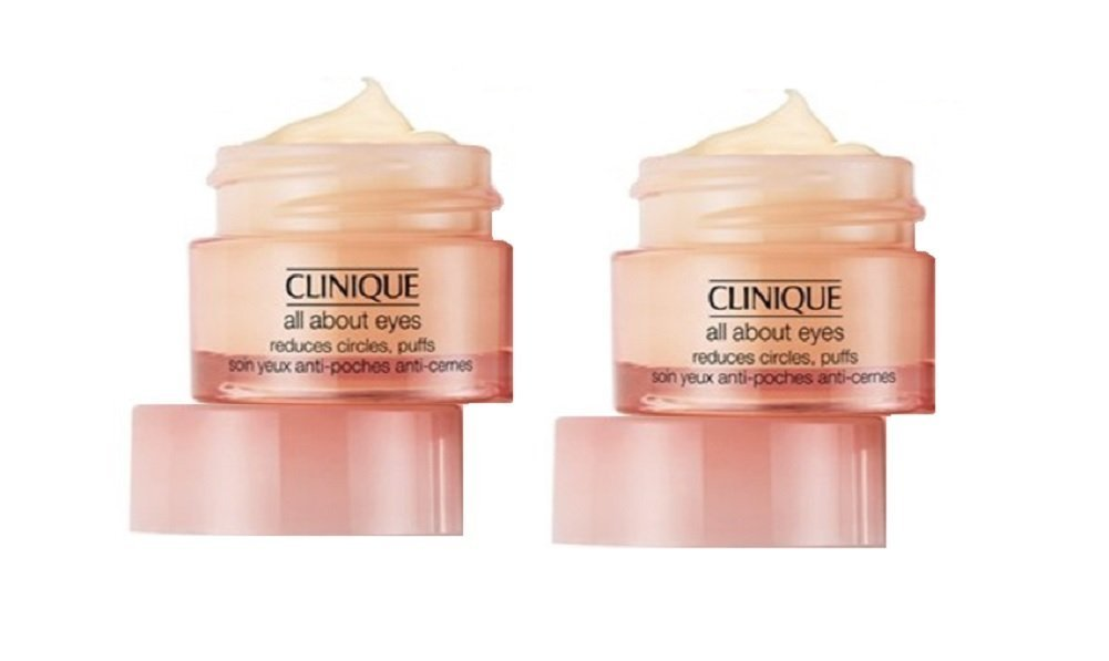 Clinique All About Eyes Duo Pack ( Travel Size ) - 2x7ml/0.21oz
