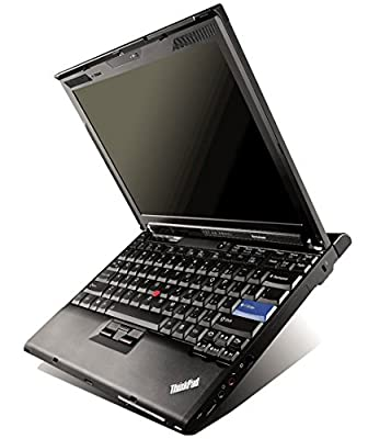"Lenovo ThinkPad X200 12.1"" WXGA Signature Convertible Tablet computer with Intel Core 2 Duo SL9400, 1.86GHz, 4GB DDR3 RAM, 160G HDD, Touchscreen, WiFi, Bluetooth, Windows 7 Pro (Certified Refurbished)"